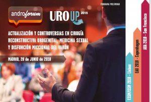 Moderador de 2 mesas de trabajo del AndroForum sobre Actualización y Controversias en Cirugía Reconstructiva Urogenital, Medicina Sexual y Disfunción Miccional del Varón