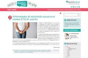 Enfermedades de transmisión sexual en el hombre (ETS)-III: Uretritis
