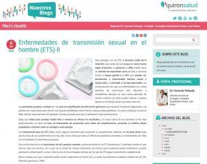 Enfermedades de transmisión sexual en el hombre (ETS)-II