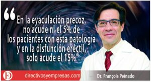 Directivos y Empresas. Entrevista al Doctor Peinado, Jefe de servicio de Urología del Hospital Quirón Ruber 39