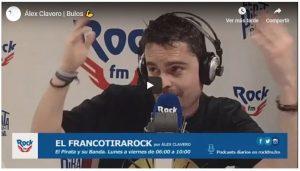 Álex Clavero del equipo de Rock FM comenta de forma muy graciosa un artículo del Dr. Peinado